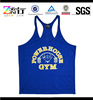 Customized sport stringer shirt for mens/cotton mens tank top