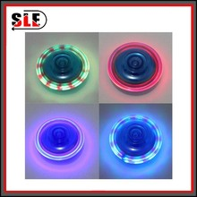 Hot Sale Plastic Cartoon Flash Light Up Toy,Promotion Spin Flash Toy