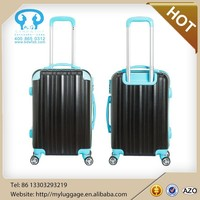 3 pcs set abs mateterial 20 24 28 inch suitcase new design and hot selling factory spinner