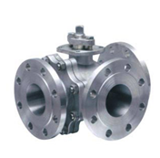 Three 3 WAY CF8 CF8M WCB BALL VALVE