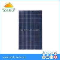 Hottest selling 250W poly solar panel for 10KW solar system with full certificate