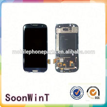 hot sale for samsung s3 lcd and digitizer assembly direct from china