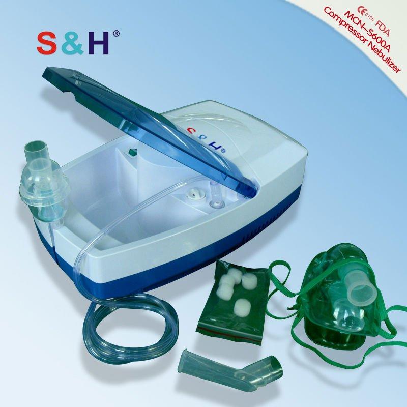 ¿ Qué hay de la diferencia entre nebulizador compresor y nebulizador ultrasónico? La partical tamaño es más pequeño la