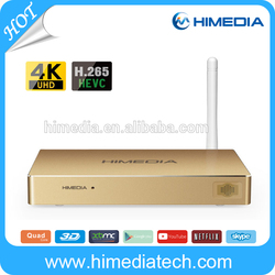 Huawei Hisilicon Hi3798M Quad Core 4K UHD HEVC 3D BDISO 2G RAM KODI 15.2 Android TV Box
