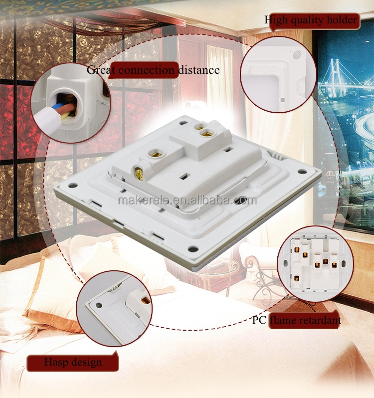 MK-WS05009 Hot Sell Electric Household 1 gang ultra thin door bell ...