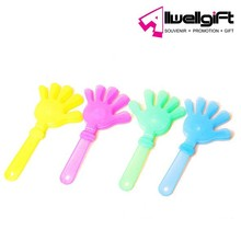 football fans led flashing hand clappers with light