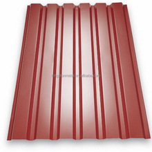 Zink Corrugated Color Coated Metal Roofing Sheets