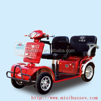 48V 500W New Hot Salt Double Seat Four Wheel Electric Mobility Scooter