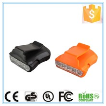 Multifunctional high quality reading running alibaba wholesale mini 5 led clip lamp / battery-operated led reading lamp