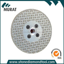 125mm Electroplated Diamond Cutting Saw Blades for Marble