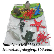 small plastic animal figurines sea animal toys