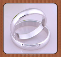 Wholesale Fashion Design Engagement Ring, plain domed 925 Silver Ring