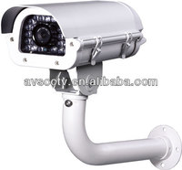 "Best Definition 1/3"" CCD 1100TVL OSD 36pcs white light LED IR Bullet License Plate Camera"
