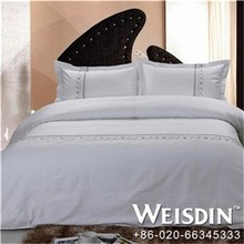 Embroidered Guangzhou bedcover bed spreads