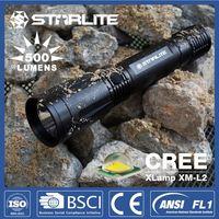 STARLITE High quality 500lm IPX7 pistol flash light