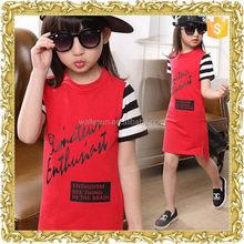 good quality teenage girls dresses,child garment ,younger girls short dress