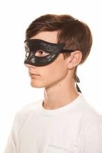 PVC-005 Yiwu Candy Black PVC venice mask The bat masquerade mask preferential wholesale