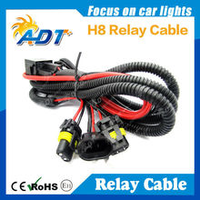 HID H8 Relay Wiring Harness For Xenon Lamp