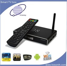 2015 newest Amlogic S805 Quad Core Support H.265 Android 4.4 TV Box