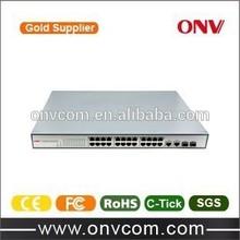 high power network 24 port poe switch