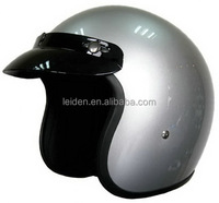 factorychrome sliver motorcycle multifunction open face bicycle helmet