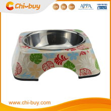 Beautiful Stainless Steel Water Pardise Island Dog Bowl Free Shipping on order 49usd