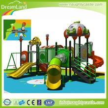 Backyard plastic outdoor playground children swing playsets