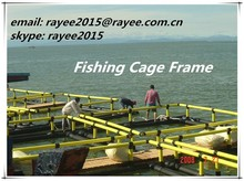 Single Knot Type and Multifilament Style deep sea breeding cage