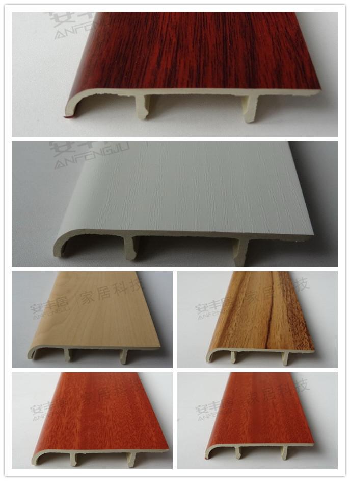 prix bon march int rieur composite bois plastique plinthe pour les planchers accessoire. Black Bedroom Furniture Sets. Home Design Ideas