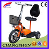 Adult Electric 3 Wheel Scooter Reverse Trike