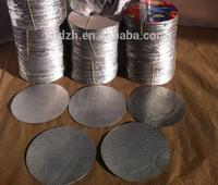 High quality printed Bottle Cap seal foil liner for PE bottle/aluminium cap seal