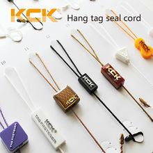 etiqueta sellada de cadena de calidad, cuerda de etiqueta colgante, etiqueta de sello plástico de la ropa