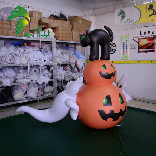 pumpkin with ghost (7)