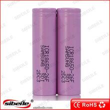 samsung inr18650 26f 2600 mah 3.7v 18650 battery samsung 18650