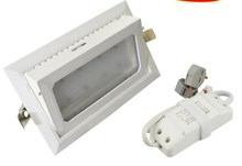Rectangle 35w led down light Samsung SMD5630+Mean well 3years warranty