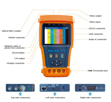DT-N95 Full function with multimeter and optical power meter CCTV Tester