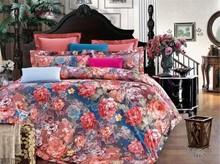 100 cotton satin jacquard luxury european style bedding set