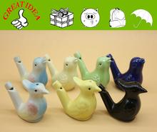 Best selling ceramic whistle bird for souvenir