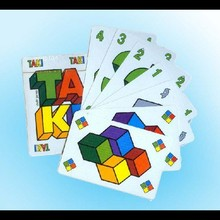 Poly bag for individual packing educational game card