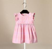 latest dress designs for kids children girls plain cotton dress baby girl wool dress