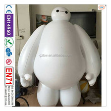 BW good design top quality airtight PVC inflatable baymax balloon for sale