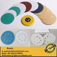 Velcro backing sanding disc for wood, metal and paint removal velcro disc