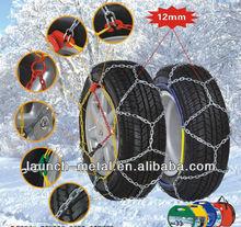 Passenger car snow chain