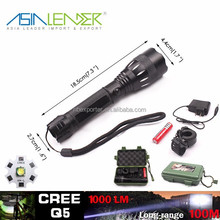 Q5 /5W-1200 Lumens, High Power LED Tactical Flashlight Torch