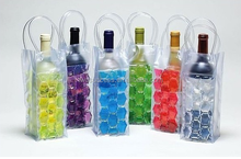 Wine Cooler Plastic Bag for Camping