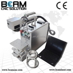 Ear tag Protable Fiber Laser Marking Engraving Machine