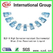 Respectueux de l'environnement bleu zinc passivation galvanoplastie intermédiaire