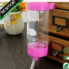 450ml Pet Drinking Bottle Colorful Pet Product High Quality Dog Product Pet Water Bottle