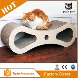figure 8 cat cratcher cat bed cat cardboard scratcher