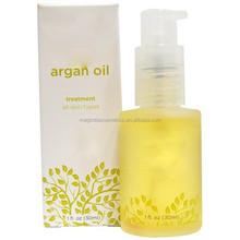 Private Label cosmetic argan oil for skin care